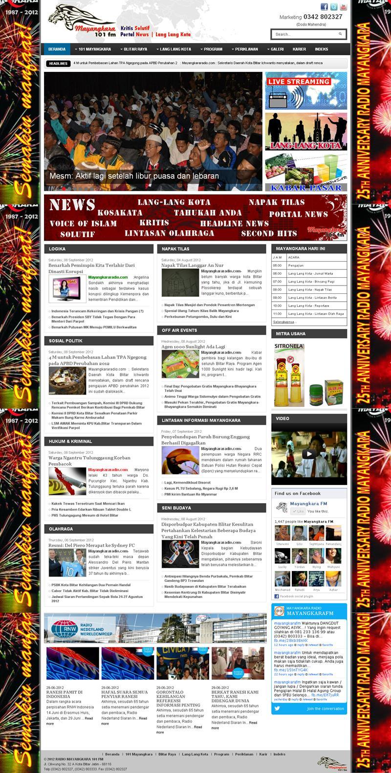 mayangkararadio.com