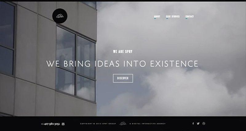 13-website dengan video background