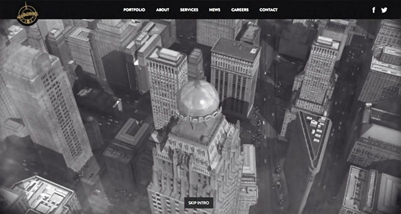 16-website dengan video background