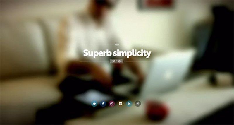 17-website dengan video background