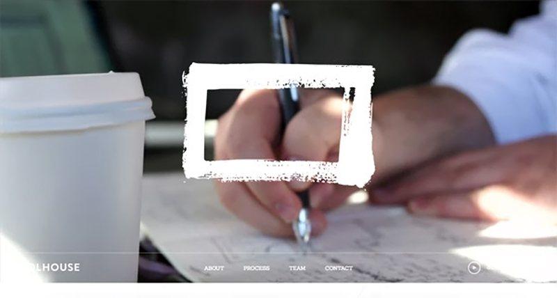 18-website dengan video background