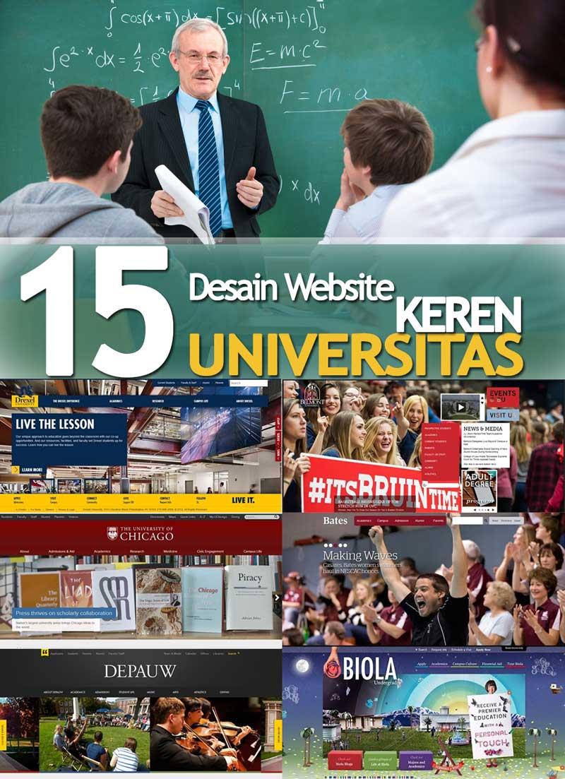 cover-Desain Website Universitas Keren
