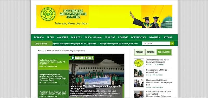 20 desain website terbaik kampus indonesia 10