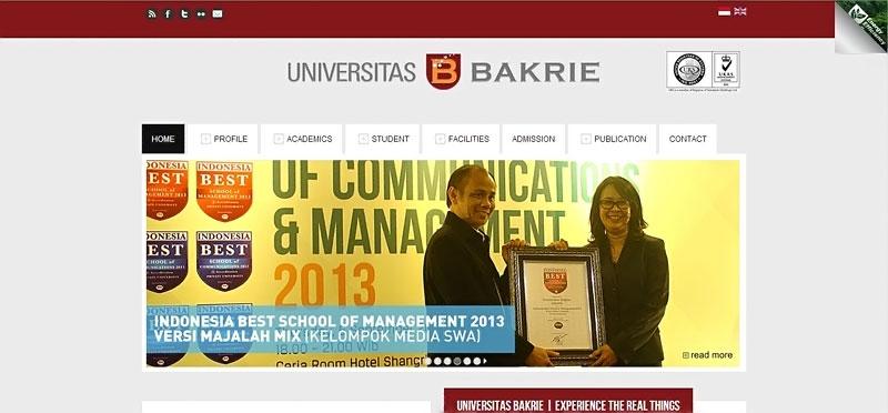 20 desain website terbaik kampus indonesia 11