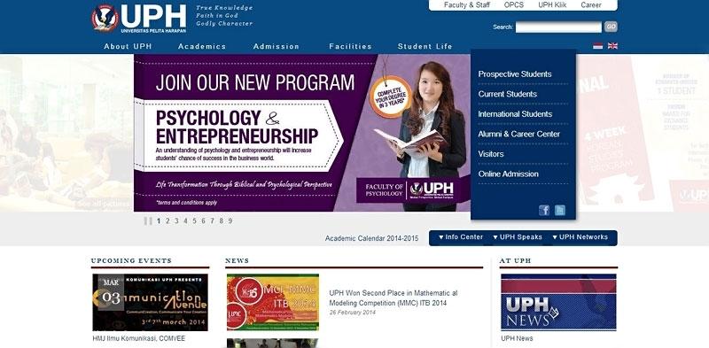 20 desain website terbaik kampus indonesia 13
