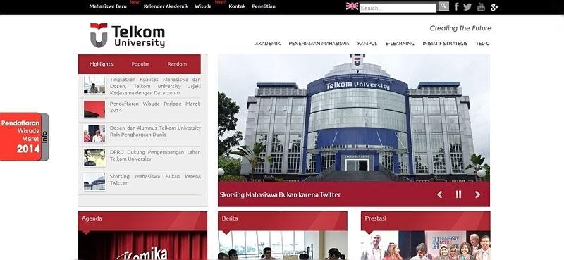 20 desain website terbaik kampus indonesia 15