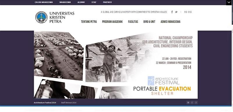 20 desain website terbaik kampus indonesia 16