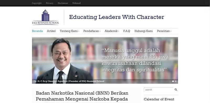 20 desain website terbaik kampus indonesia 18