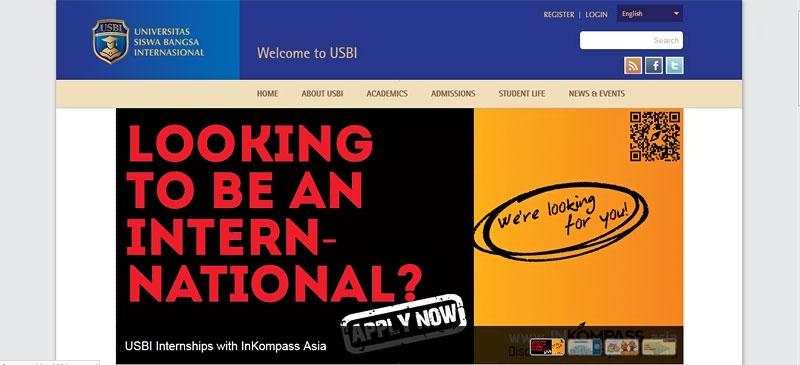 20 desain website terbaik kampus indonesia 20
