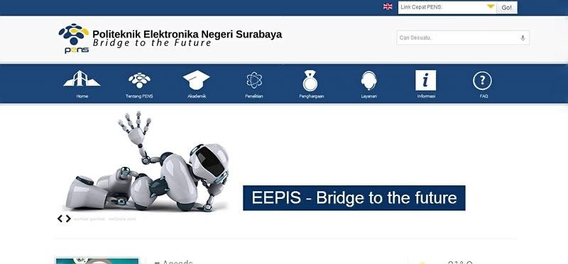 20 desain website terbaik kampus indonesia 6
