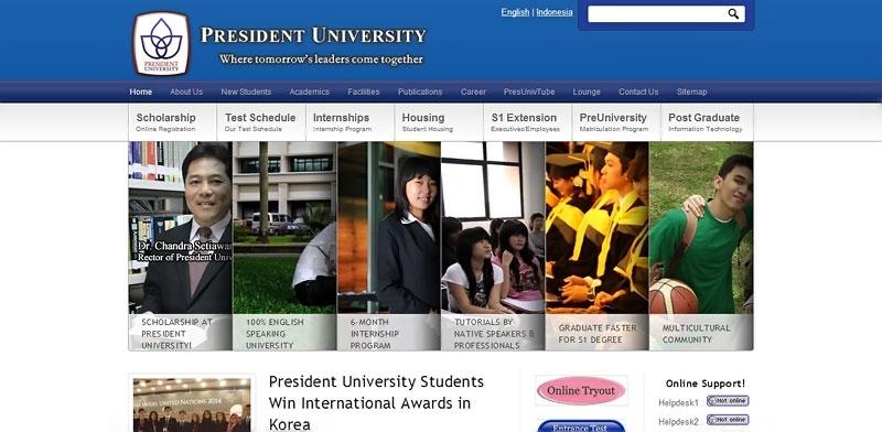 20 desain website terbaik kampus indonesia 9