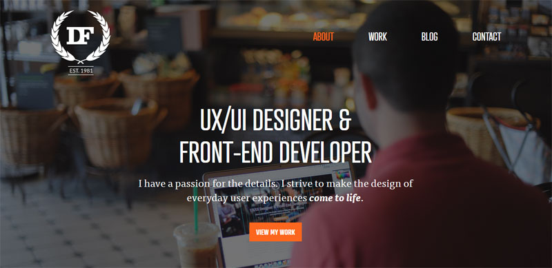 Web Design with Fixed Header danielfiller