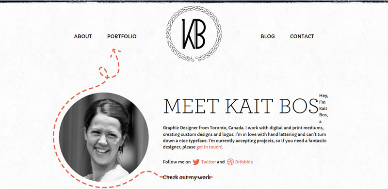 Web Design with Fixed Header kaitbos