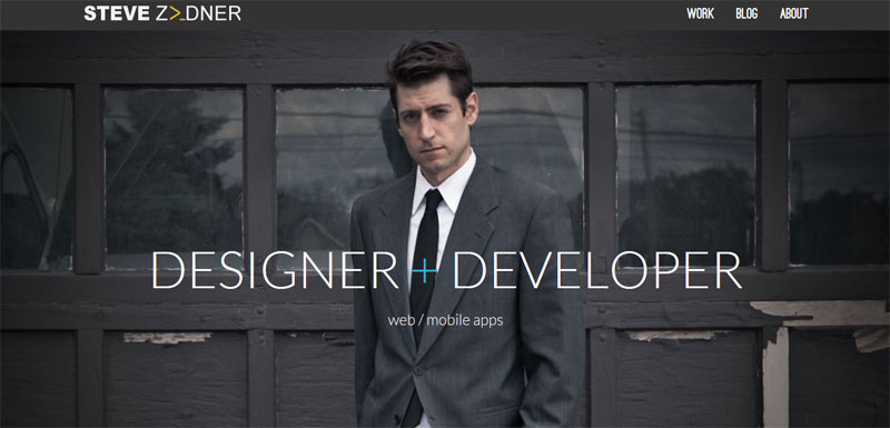 Web Design with Fixed Header stevezeidner