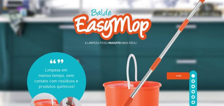 Single Page Web Design easymop