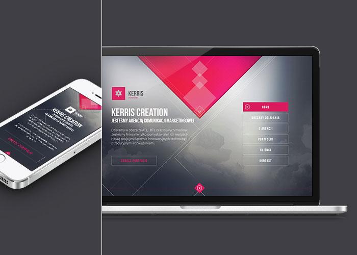 Single Page Web Design kerris