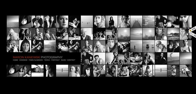 black and white website Marcin-Kaniewski-Photography