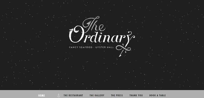 black and white website The-Ordinary