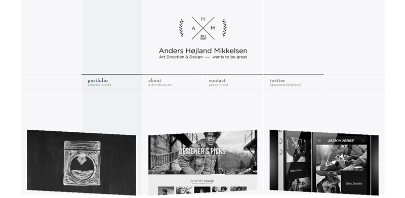 black and white website wants-to-be-great