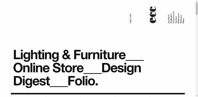 typhography web design ecc
