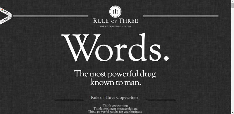typhography web design rule
