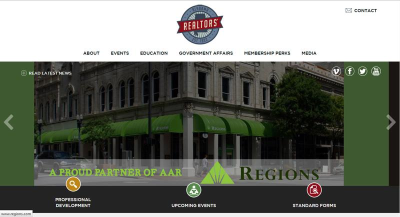 inspirasi desain web real estate - alabamarealtors