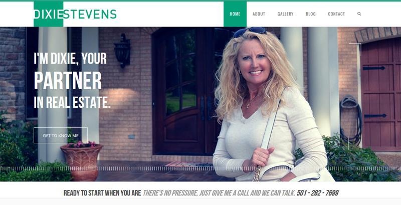 inspirasi desain web real estate - dixiestevens