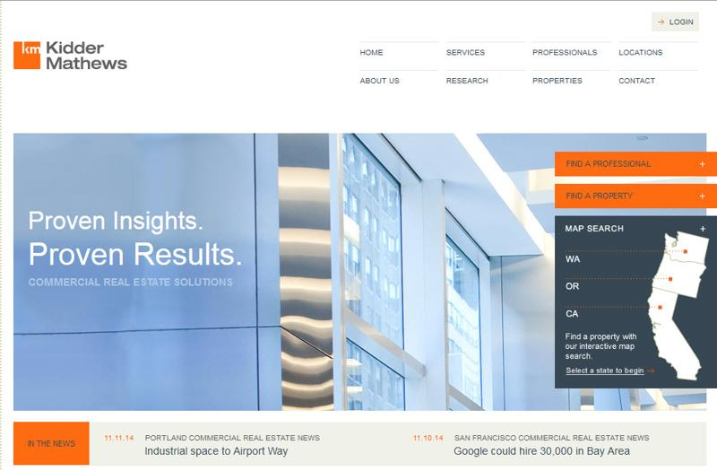 inspirasi desain web real estate - kiddermathews