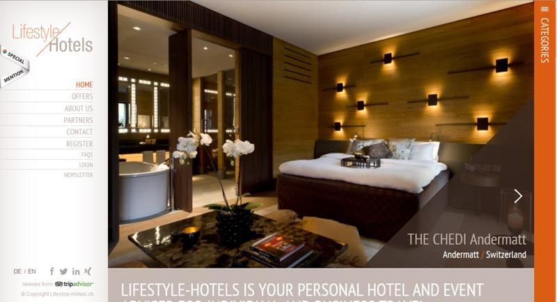 inspirasi desain web real estate - lifestyle-hotels