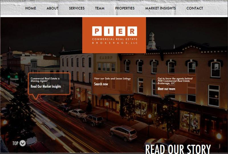 inspirasi desain web real estate - piercommercial