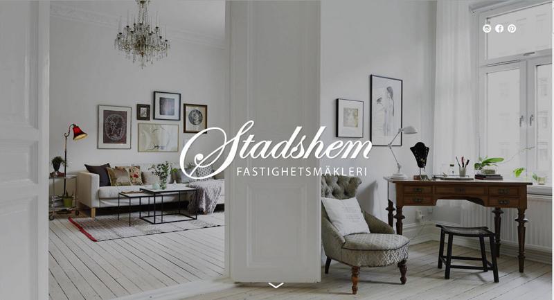 inspirasi desain web real estate - stad shem