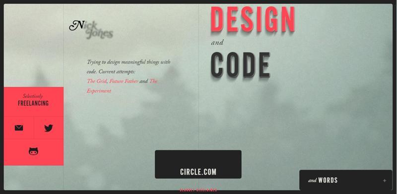 web design navigation narrow