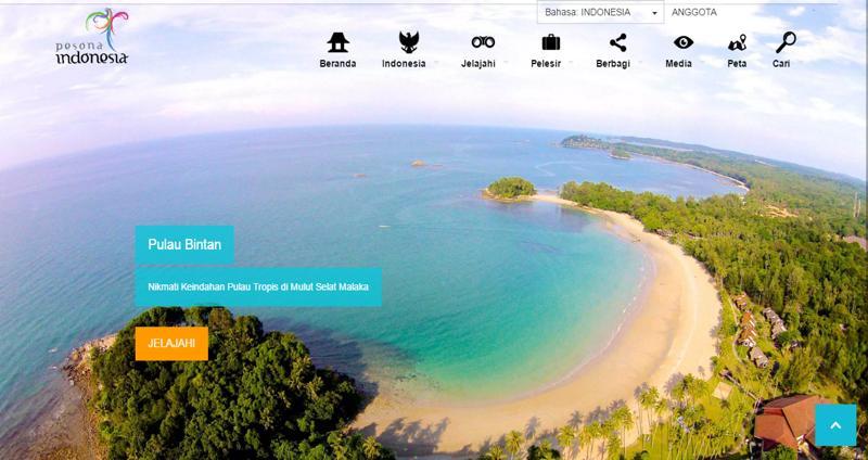 15Pesona Indonesia Website Resmi Pariwisata Indonesia dan Informasi Wisata