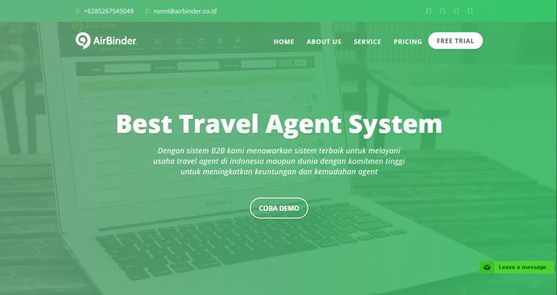1Airbinder Indonesia Best Engine B2B Travel Agent