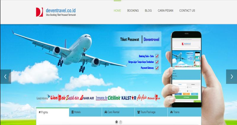 DEVENTRAVEL IBE Tiket Pesawat Murah – Cari Promo Tiket Pesawat