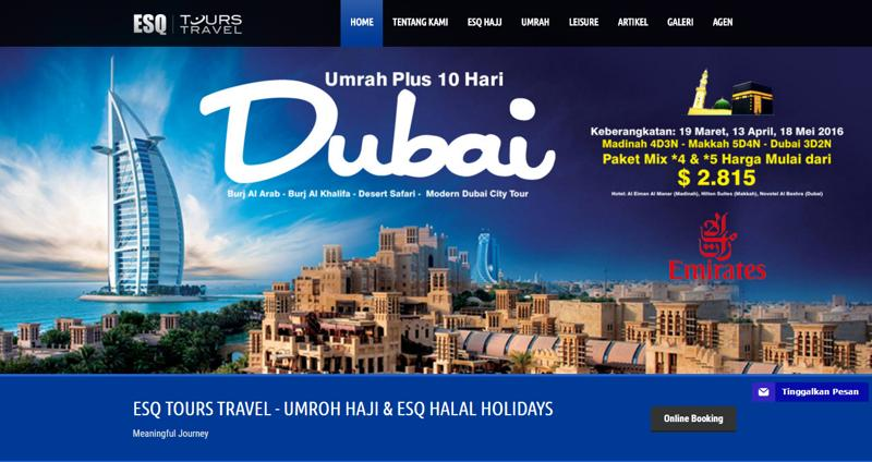 ESQ Tours Travel Travel Umroh Haji ESQ Halal Holidays