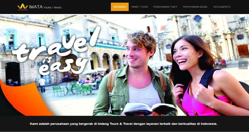 blog design terbaik tour travel indonesia tahun