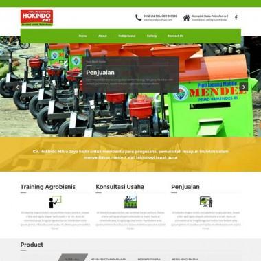 Web Profil Hokindo Jaya