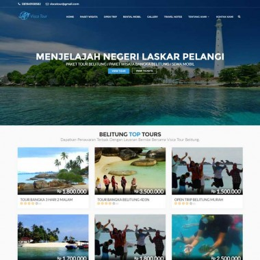 Web Travel – Visca Tour