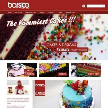 Web Kue Barskacakes[dot]com
