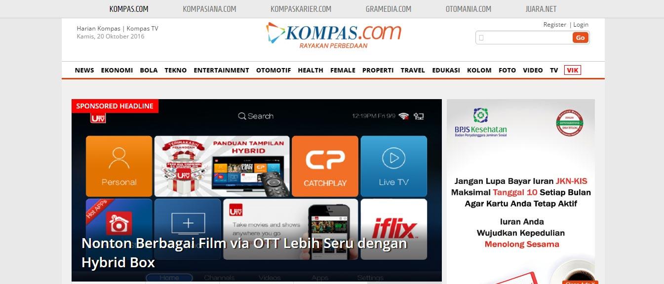 web-portal-terbaik-di-indonesia-kompas